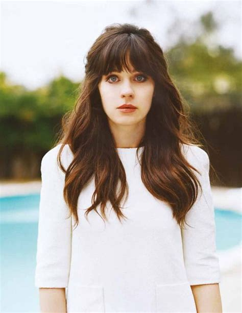 how to cut bangs like zoe just got bangs like these love them hairstyles