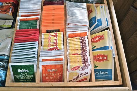 tea drawer tea organization