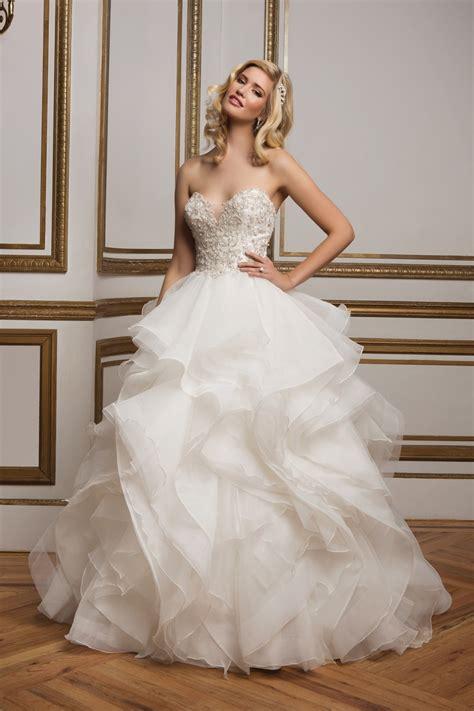beaded bodice wedding dress a line princess sweetheart chapel chiffon wedding