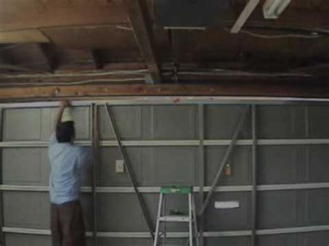 Garage Door Horizontal Strut Garage Door Repair San Diego Strut Replacement