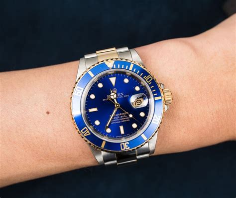 Rolex Oyster Submariner 2 preowned rolex submariner 16613 two tone oyster