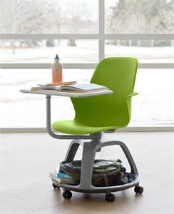 Small Desk Chairs With Wheels Design Ideas The Steelcase Node Desk