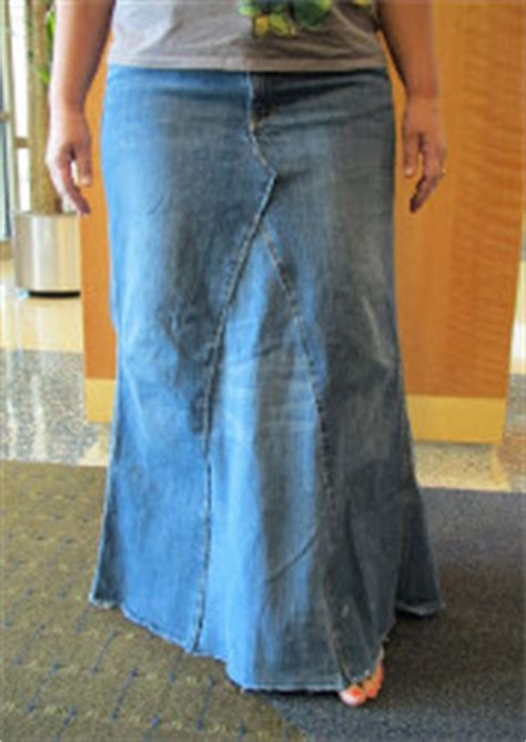 pattern for turning jeans into a skirt 35 free skirt sewing patterns how to make a skirt out of