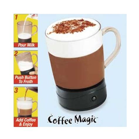 Coffee Magic other cups glasses coffee magic frothing mug
