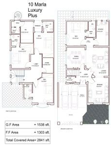 Home Design In 10 Marla by 10 Marla House Plans Civil Engineers Pk