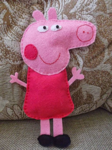 como hacer brazos y manos de peppa pig en porcelana como hacer a pepa pig con tela bolso de peppa pig de
