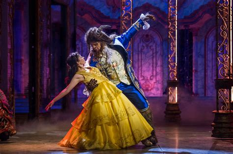 disney cruise line debuts new and the beast show