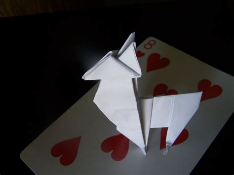 Origami Llama - origami llama by samus117 on deviantart