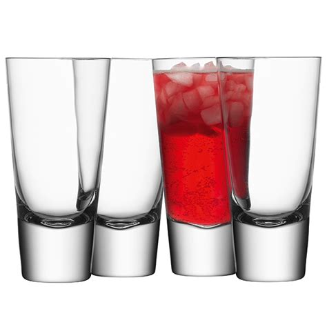 Bar Tumbler Glasses Lsa Bar Mixer Glasses 11 1oz 315ml Drinkstuff
