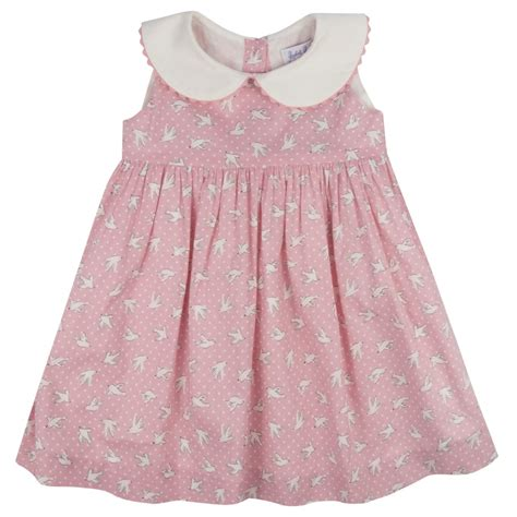 Dress Anak Polka Pink s and pink polka dot print dress and bloomers from
