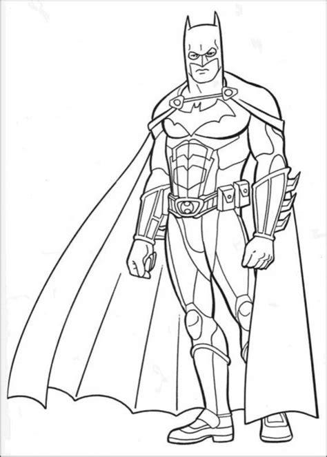 Free Printable Batman Coloring Pages