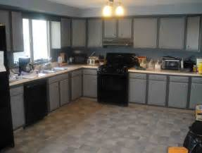 grey kitchen cabinets with black appliances kitchen kitchen color ideas with oak cabinets and black
