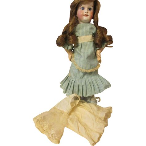 bisque doll wigs antqiue bebe bisque doll human hair wig from
