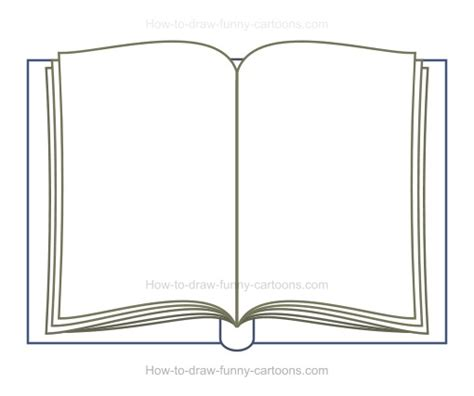 how to draw books how to draw a book