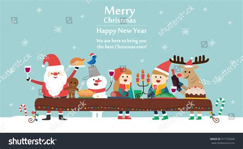 christmas cards shutterstock merry card vector illustration stock vector 517729948