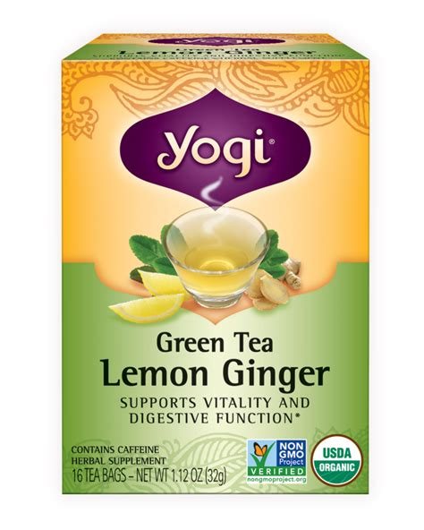 Yogi Lemon Detox Tea by Green Tea Lemon Yogi Tea