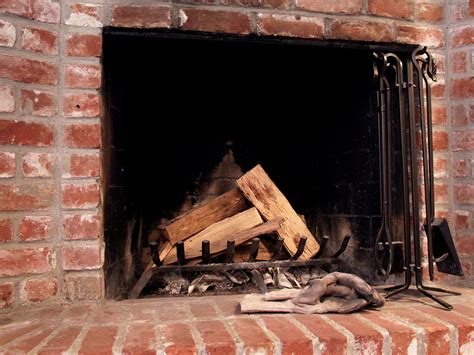 How To Build A Wood Burning Fireplace by Clean Wood Burning Fireplace And Flue Homezada