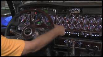 Big Truck Interior Accessories Empire Chrome Shop Chrome Time Episode 7 Kenworth Dash