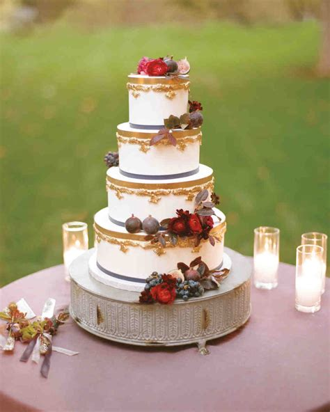 fall wedding cakes 53 fall wedding cakes we re obsessed with martha stewart
