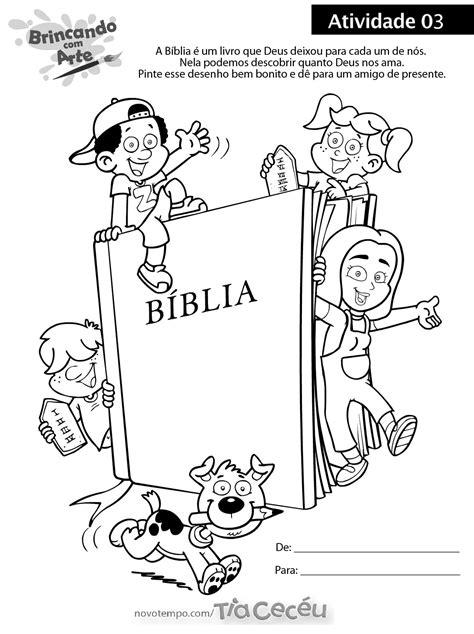 atividade tia ceceu 03 | Desenhos bíblicos para imprimir