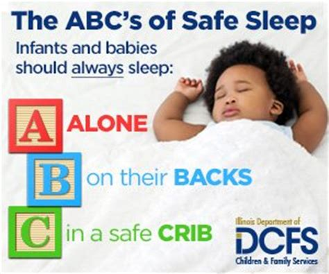is it safe for baby to sleep in swing illinois dcfs reminds parents and caregivers about the
