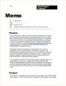 business exles 6 business memo sle memo formats