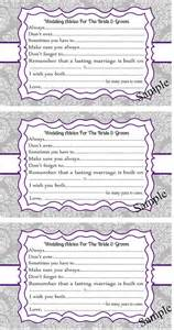 marriage advice cards templates 25 best ideas about wedding advice cards on