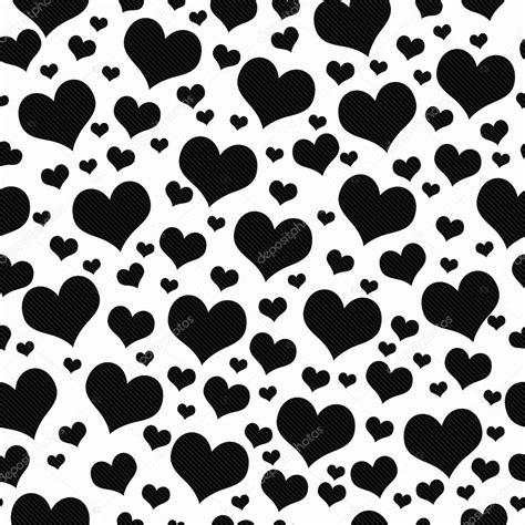 black and white heart pattern wallpaper black and white hearts tile pattern repeat background