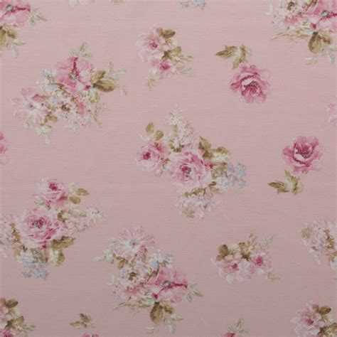 Vintage Upholstery Fabric Uk by Vintage Chintz Shabby Roses Print Retro 100 Cotton Curtain