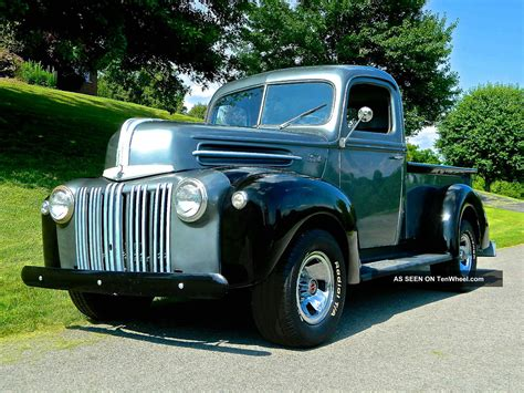 1946 Ford Truck by 1946 Ford Truck Flatehead V 8