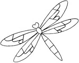 dragonfly template coloring pages of dragonflies coloring home