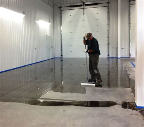 seamless epoxy flooring project in middlebury vt