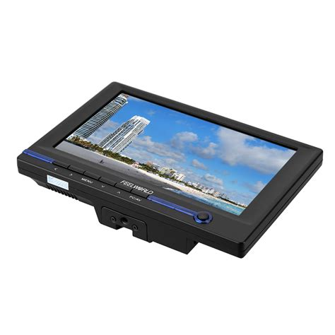 Monitor Lcd Hdmi feelworld fw639ah 7 quot tft lcd hd monitor with hdmi vga av input for dslr with car