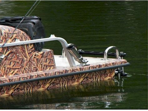 duck hunting inflatable boat duck hunting pedal boat in action 4