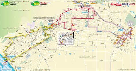 map los angeles maps update 21051488 la tourist attractions map los