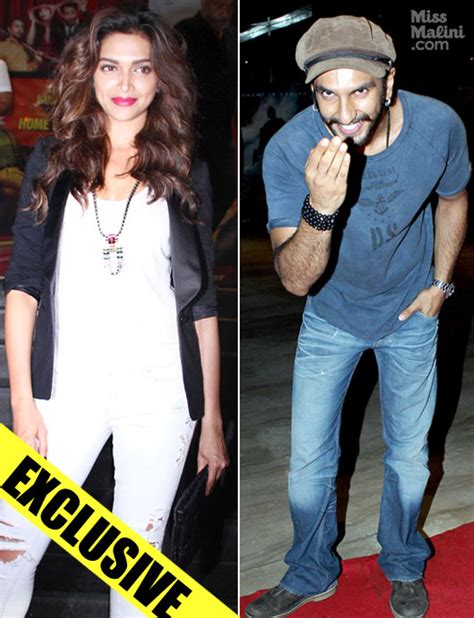 what s cooking between ranveer singh and deepika padukone