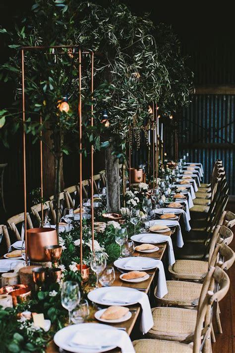 27 Trendy Botanical Wedding Table Décor Ideas   Weddingomania