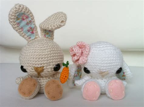 amigurumi pattern free bunny free amigurumi tutorials and patterns crafted happiness