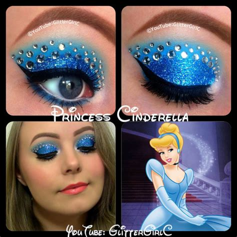 disney makeup tutorial disney princess cinderella makeup glittergirlc