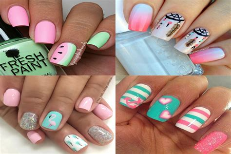 easy nail art for summer 20 best summer nail art designs that are easy to design