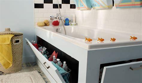 comment faire un tablier de baignoire fabriquer un tablier de baignoire avec rangements int 233 gr 233 s