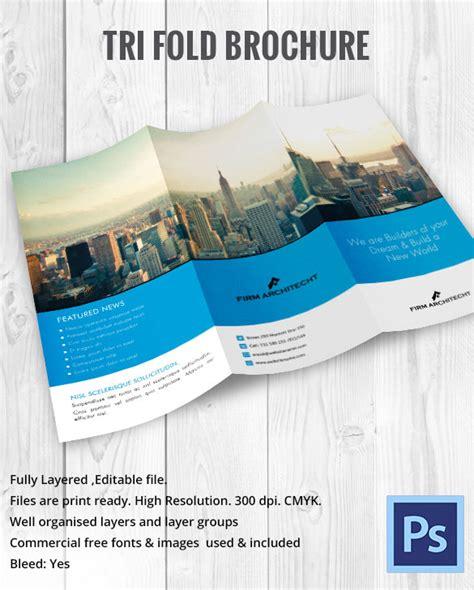 Tri Fold Brochure Template Pdf by Tri Fold Brochure Template 45 Free Word Pdf Psd Eps