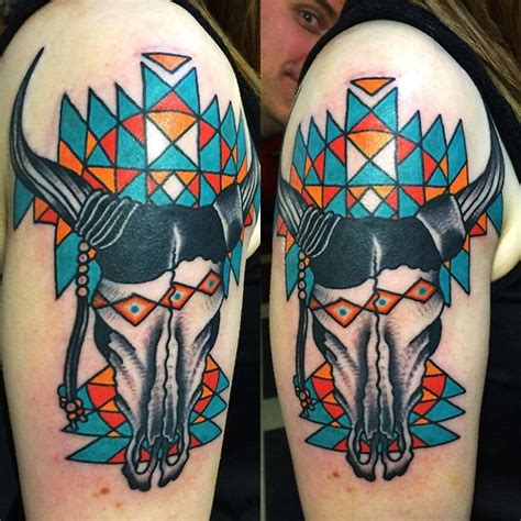 bull skull tattoo designs 60 animal skull designs