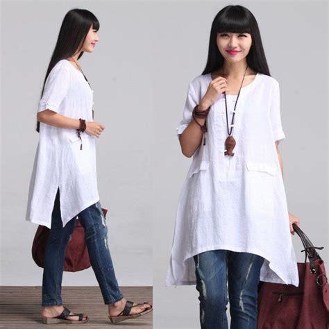 blusas de lino para mujer holgada blusa camisa de lino para mujer womenc por
