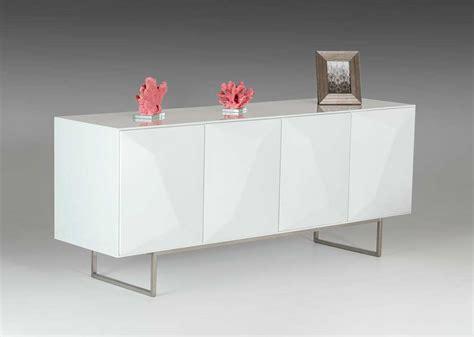 white buffet modern white glossy buffet vg108 modern buffets stations