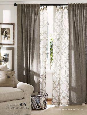 double layer curtain rod best 25 double curtains ideas on pinterest modern