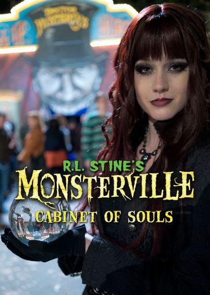 monsterville the cabinet of souls is r l stine s monsterville cabinet of souls available
