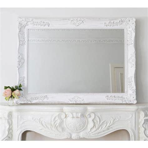 white mirror shabby chic 1000 ideas about white mirror on cottage