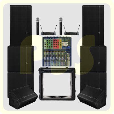 Mixer Lapangan paket sound system outdoor 12 000 watt paket sound system profesional indonesia