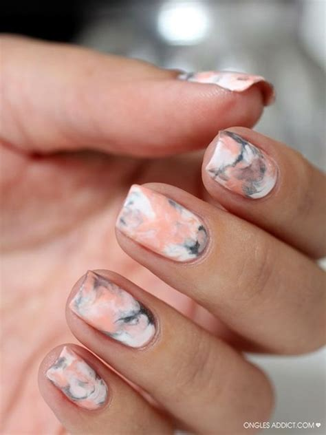 easy nail art designs marble 45 so sassy marble nail art designs for 2016